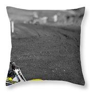 Motocross Slingshot Throw Pillow