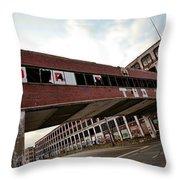 Motor City Industrial Park The Detroit Packard Plant Throw Pillow