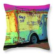 Motor City Pop #18 Throw Pillow