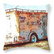 Motor City Pop #19 Throw Pillow