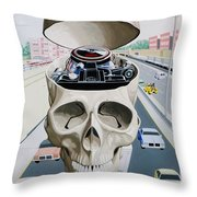 Motorhead Throw Pillow