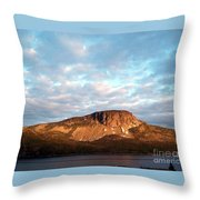 Mottled Sky Of Late Spring Throw Pillow