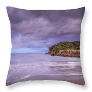 Moturiki Island Throw Pillow