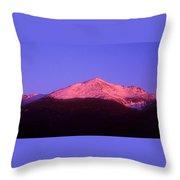 Mount Adams At Sunrise Throw Pillow