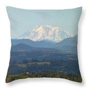 Mount Adams In Washington State Throw Pillow