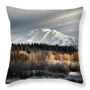 Mount Adams, Washington Throw Pillow