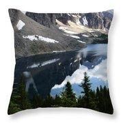 Mount Assiniboine Canada 13 Throw Pillow
