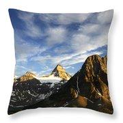 Mount Assiniboine Canada 14 Throw Pillow
