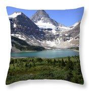 Mount Assiniboine Canada 16 Throw Pillow
