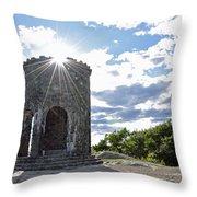Mount Battie Camden Maine Throw Pillow