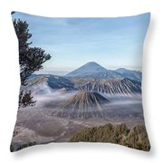 Mount Bromo National Park - Java Throw Pillow