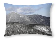 Mount Carrigain - White Mountains New Hampshire Usa Throw Pillow