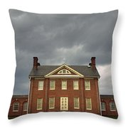 Mount Clare Mansion Throw Pillow