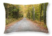 Mount Clinton Road - Beans Grant New Hampshire Throw Pillow