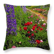 Mount Congreve Gardens, Co Waterford Throw Pillow