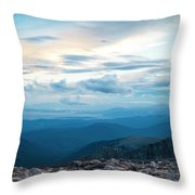 Mount Evans Throw Pillow