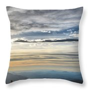 Mount Evans Painterly 1 Throw Pillow