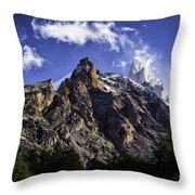 Mount Fitz Roy 3 Throw Pillow