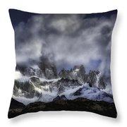 Mount Fitz Roy 6 Throw Pillow