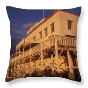 Mount Holyoke Summit House Throw Pillow