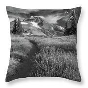 Oregon's Mount Hood Throw Pillow