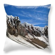 Mount Hood Throw Pillow
