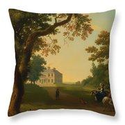 Mount Kennedy - County Wicklow Ireland Throw Pillow