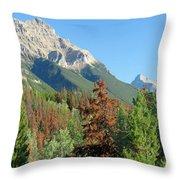 Mount Kerkeslin Throw Pillow