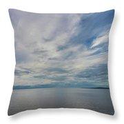Mount Kinnekulle In Sweden Throw Pillow