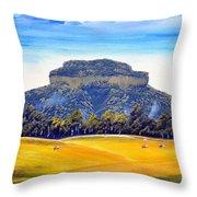 Mount Lindesay,australia Throw Pillow