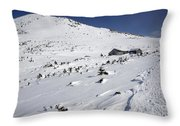 Mount Madison - White Mountains New Hampshire Usa Throw Pillow by Erin Paul Donovan
