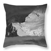 Mount Mckinley Throw Pillow