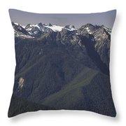 Mount Olympus Washington Throw Pillow