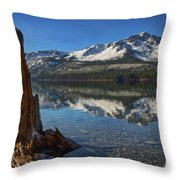 Mount Tallac And Fallen Leaf Lake Throw Pillow