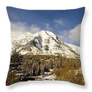 Mount Timpanogos Throw Pillow