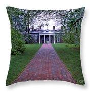 Mount Vernon 8x8 Throw Pillow