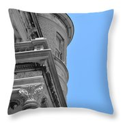 Mount Vernon Place Throw Pillow