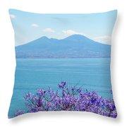 Mount Vesuvius 1 Throw Pillow