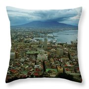 Mount Vesuvius Naples It Throw Pillow