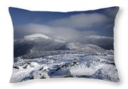 Mount Washington - New Hampshire Usa Throw Pillow