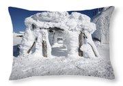 Mount Washington State Park - New Hampshire Usa Throw Pillow