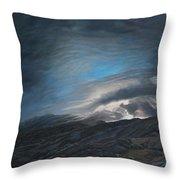 Mount Washington Sunrise Throw Pillow