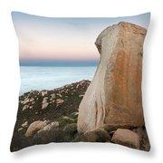 Mount Woodson At Dawn Throw Pillow