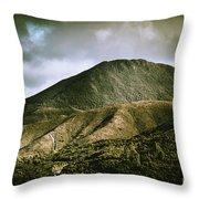 Mount Zeehan Tasmania Throw Pillow