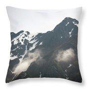 Mountain Alaska A Throw Pillow