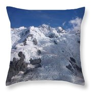 Mountain Cloud Scape Throw Pillow