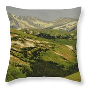 Mountain Country Throw Pillow