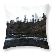 Mountain Dreaming  Throw Pillow