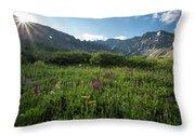 Mountain Glory Throw Pillow