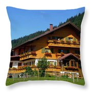 Mountain Guesthouse H B Throw Pillow
